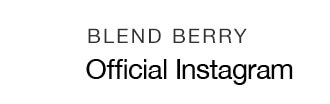 BLEND BERRY Official Instagram